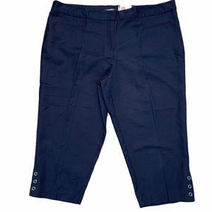 ROZ & ALI Secret Agent Collection Capris Pants